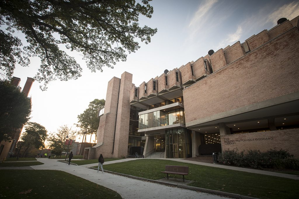 Robert H. Goddard Library at Clark University