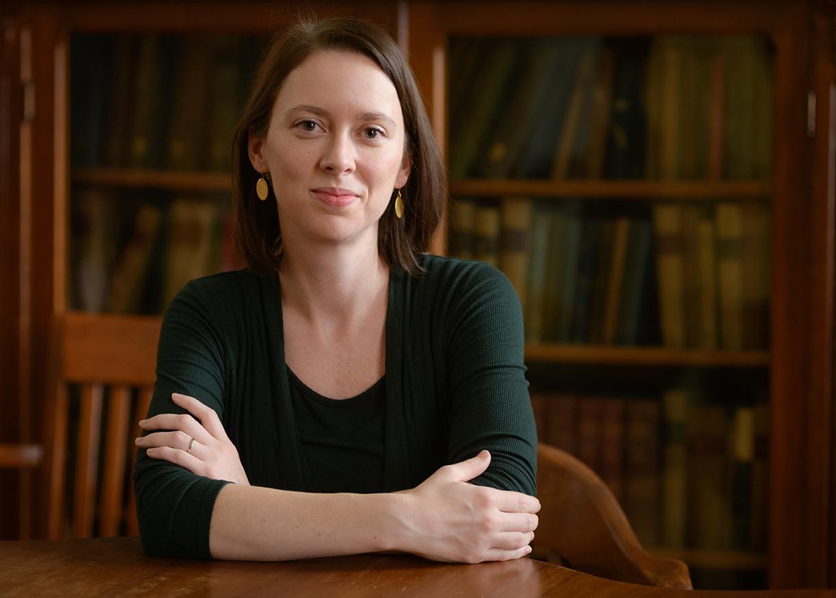 Clark Professor Amy Heberle
