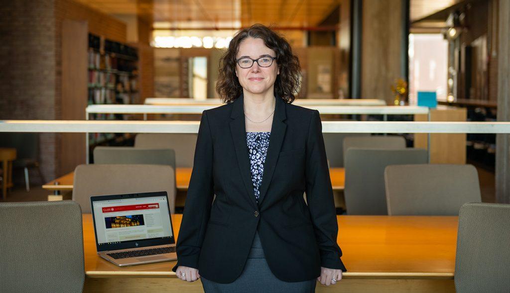 Goddard Library Director Laura Robinson