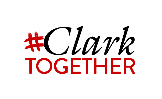 Logo saying Clark Together
