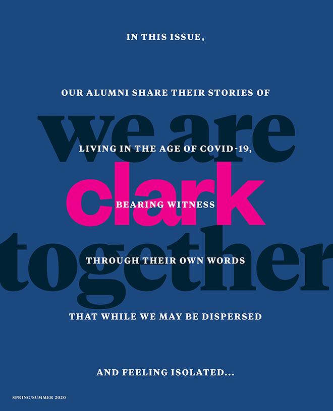 Clark magazine spring/summer 2020
