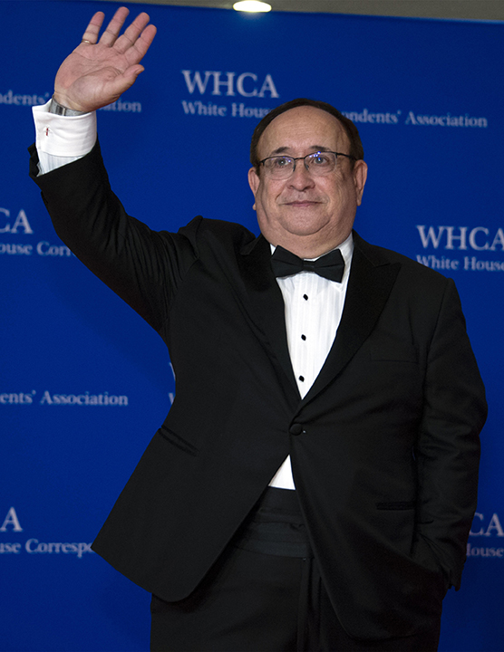 Lee Miringoff attends the 2018 White House Correspondents Dinner