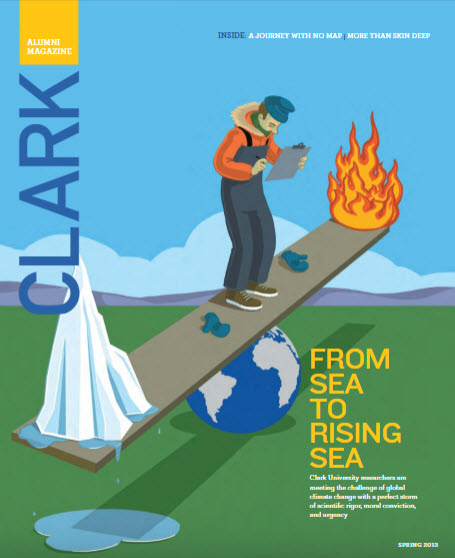 Clark magazine spring 2013 cover
