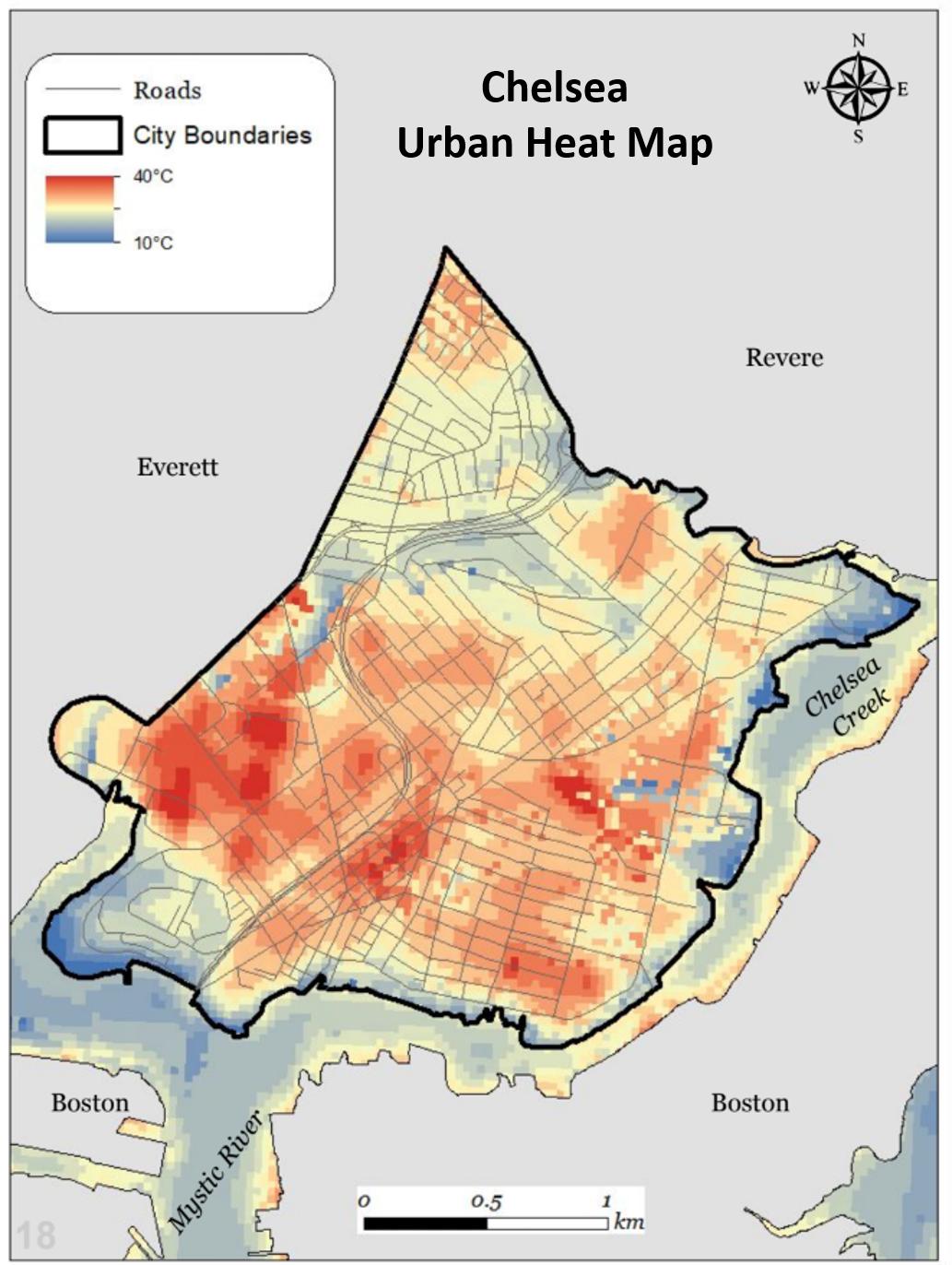 Chelsea heat map