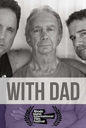 With Dad poster Rhode Island Film Festival