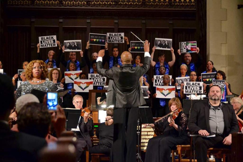Cailin Marcel Manson conducts Verdi's Requiem