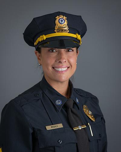 Clark University Police Sgt. Lauren Misale