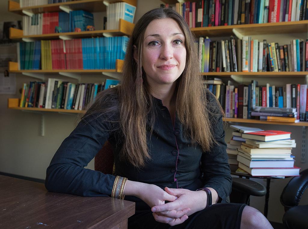 Clark University Psychology Professor Johanna Ray Vollhardt