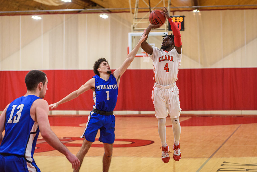 Clark University men's basketball at Wheaton College