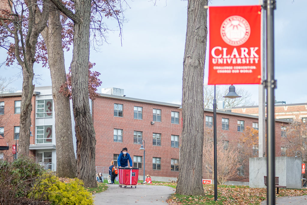 Students move out of the Clark campus
