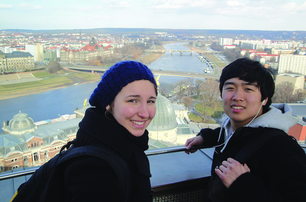 students in Dresden, Germany