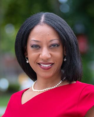 Esther Jones, Dean of the Faculty at Clark University