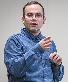Clark University Professor Juan Pablo Rivera