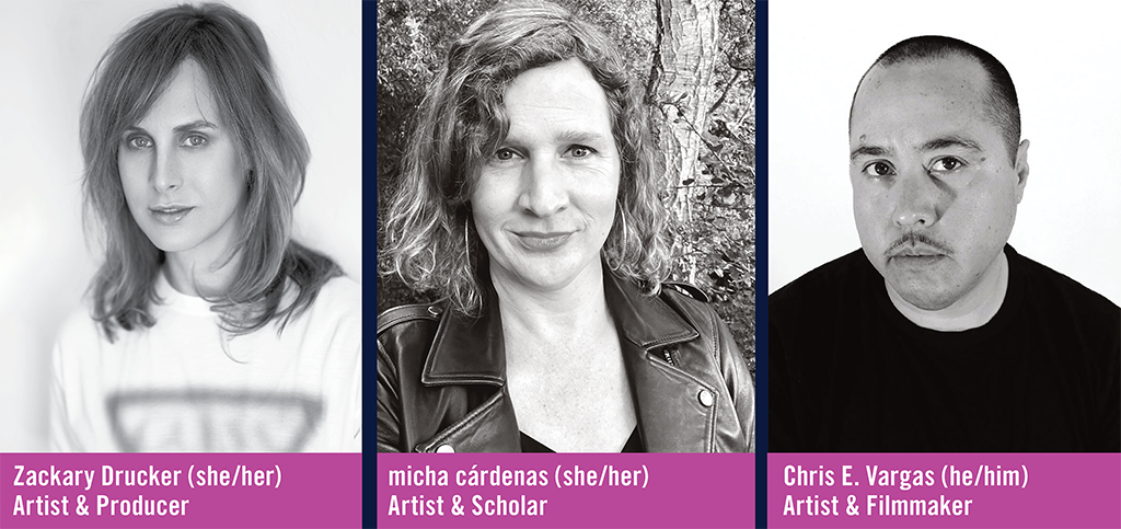 """Panelists for """"Trans Media and Its Futures"""" event"""