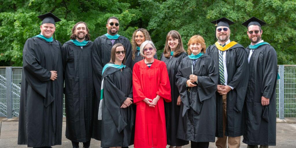MPA-SL graduates at 2021 commencement