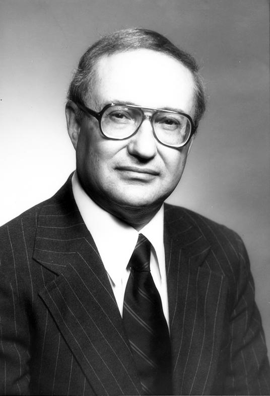 Saul Cohen, former director of clark University Graduae School of Geography