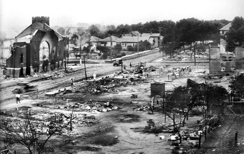 Tulsa, Oklahoma after 1921 race massacre