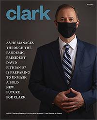 Spring 2021 Clark magazine cover
