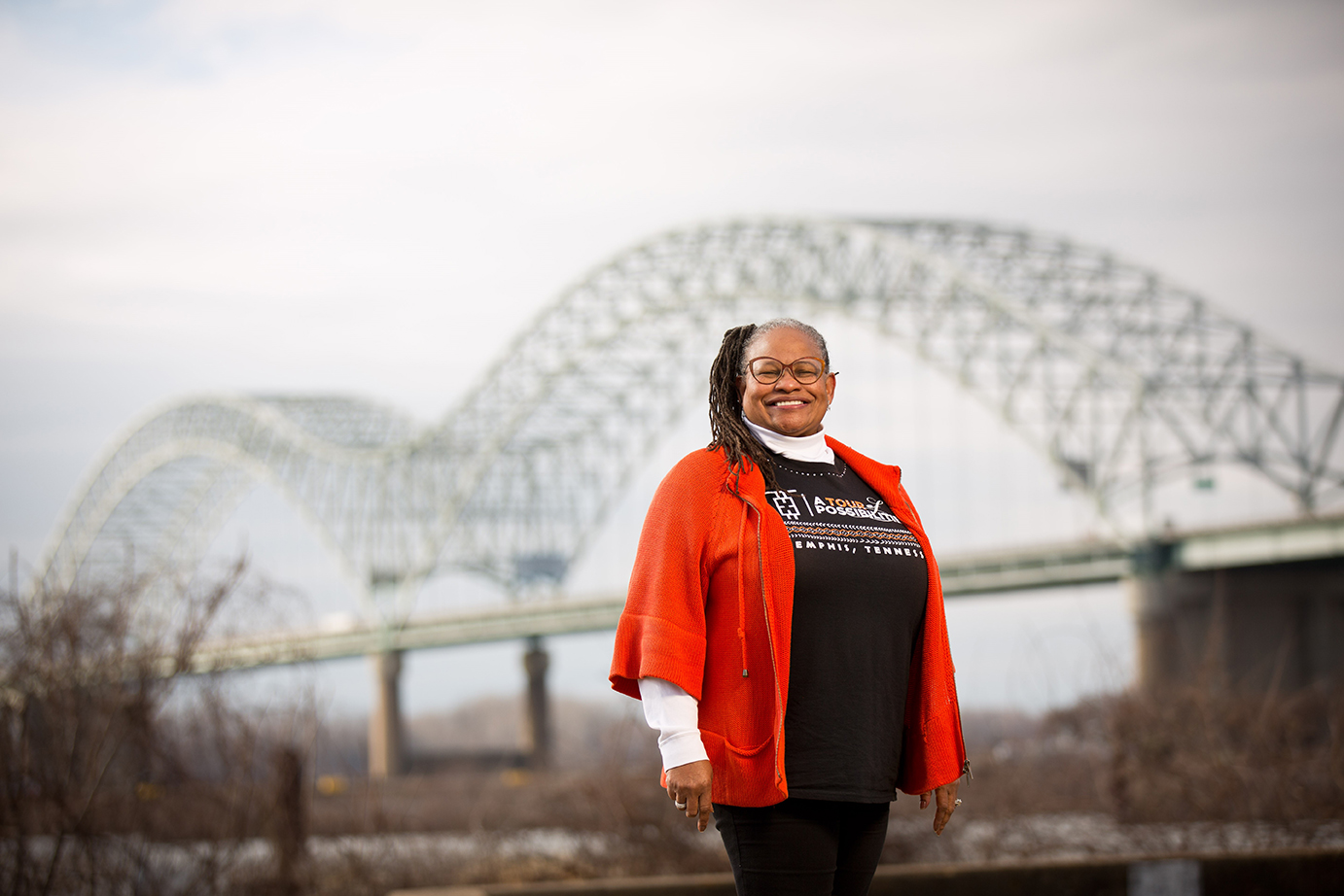 Carolyn Michael-Banks photographed in Memphis, Tennssee