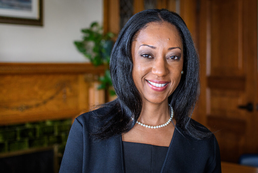 Clark University Dean of the Faculty Esther Jones