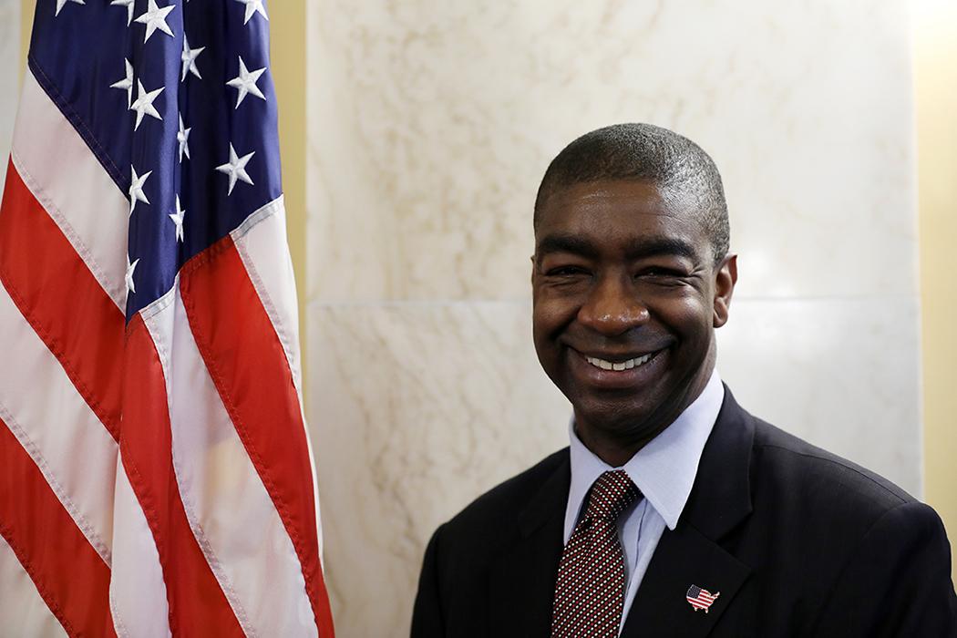 U.S. Election Assistance Commissionner Thomas Hicks