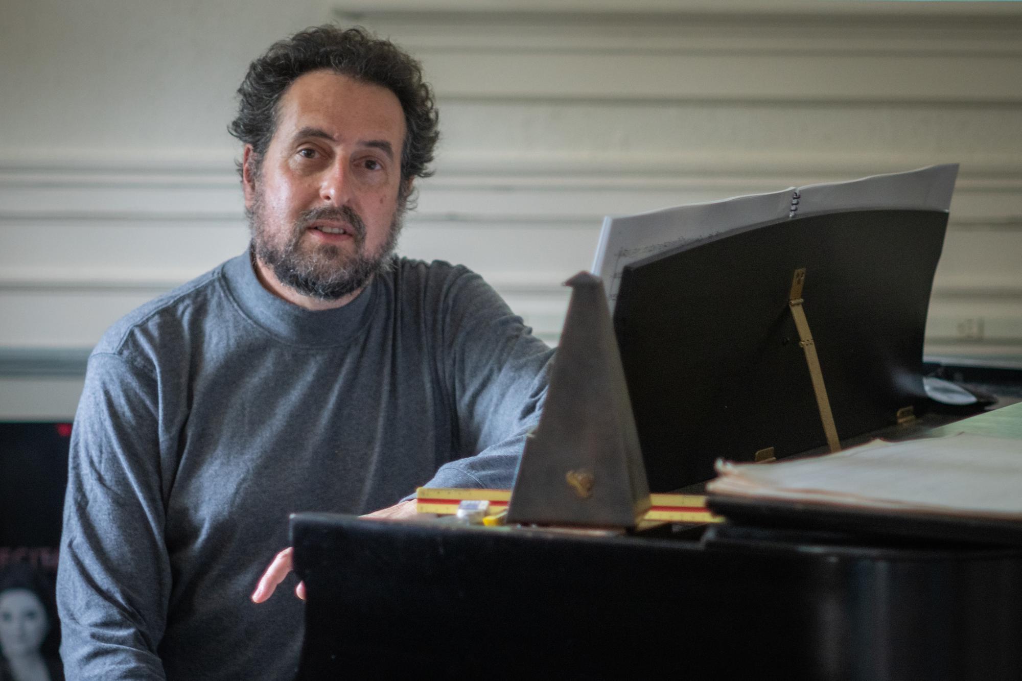 Matt Malsky at piano